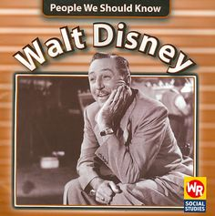 A biography of the famous cartoonist who created Mickey Mouse, Snow White and the Seven Dwarfs, and Bambi, and owner of Walt Disney Studios and Disneyland. Color: White.