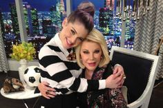Kelly Osbourne & Joan Rivers