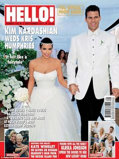 Of the 62 celebrity weddings that featured on Hello! magazine's front cover over the past decade, ten of them, 16%, have ended in divorce.    Read more: http://www.bellenews.com/2012/04/09/entertainment/the-hello-magazine-wedding-curse/#ixzz1rXwfO1UL