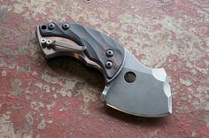 A Toad from Tuff Knives submitted by coolknifepics.tumblr.com