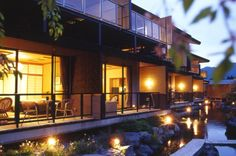 Boutique Hotels — Ryokan Okunoin Hotel Tokugawa, Kanto - Japan Nikko, Hot Springs, Japan, Mansions, Luxury, House Styles, Boutique Hotels, Home, Spa Water