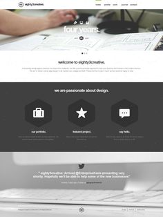 eighty3creative - branding web print - Best website, web design inspiration showcase