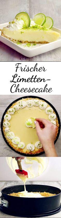 Wir verwandeln den allseits beliebten Cheesecake in eine frische Sommer-Variante.