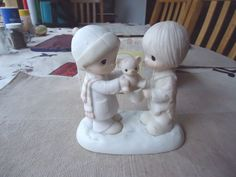 Vintage 1983 Precious Moments Christmastime Is For Sharing