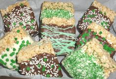 St. Patrick's Day Rice Crispy Treats