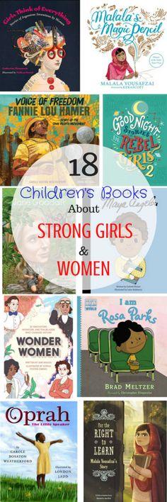 Good Life Detroit | 18 Inspiring Children's Books About Strong Girls and Women | http://goodlifedetroit.com
