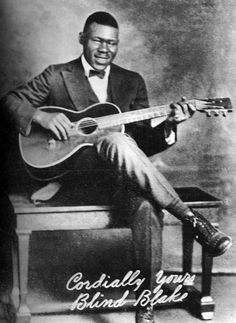 """""""Blind"""" Blake (born Arthur Blake, circa 1893, Jacksonville, Florida; died: circa 1933) was an influential blues/ragtime singer and guitarist. He is often called """"The King of Ragtime Guitar""""."""