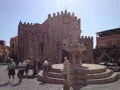 Piazza del Duomo, Taormina, Sicily