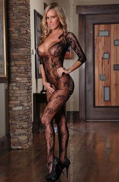 Provocative Body Stocking PR4160 at Charm and Lace Lingerie Boutique - 1
