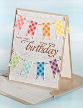banner birthday card