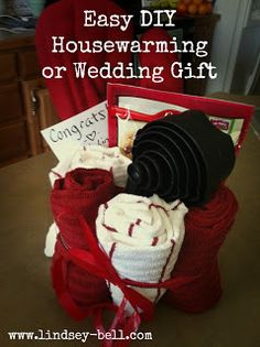 Lindsey Bell: Easy and Inexpensive DIY Housewarming or Wedding Gift