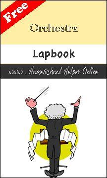 Homeschool Helper Online's Orchestra Lapbook