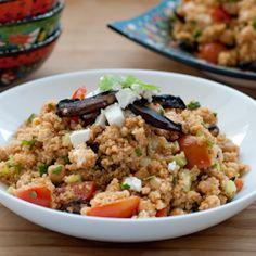 Quinoa Salad w/ Paprika Vinaigrette HealthyAperture.com