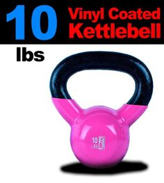 New MTN 10 lbs 1pc Vinyl Coated Cast Iron Kettlebell Kettle Bell Lowest  Price Fastest Priority