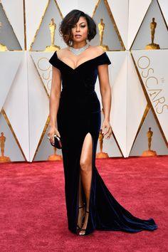Taraji P. Henson, Oscars 2017 Best Dressed Red Carpet Looks   Teen Vogue