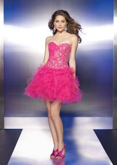 Hot Pink Cocktail Dresses Design Idea \u2013 Designers Outfits Collection