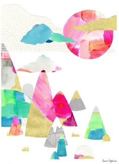Image of Limited Edition Print // Happy Place by Laura Blythman