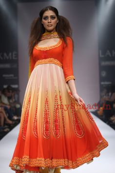 Abhi Singh bridal collection - For the entire collection visit myshaadi.in