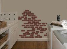 ZPB Associates Zpbassociates On Pinterest - Vinyl wall decals brick