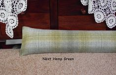 Draught Excluder heavy weight 1.9 kg Next Hemp by sewverrychic