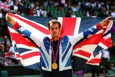 Andy Murray, GB gets gold!