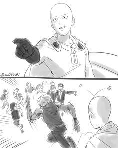 One Punch Man Memes, One Punch Man 1, One Punch Man Funny, Saitama One Punch Man, One Punch Man Manga, One Punch Man Wallpapers, Mob Psycho 100 Wallpaper, Genos X Saitama, Page One