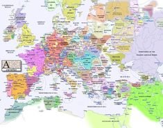 Europe in 1300, looks more like modern Africa. approx.