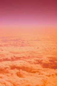 Magical: a pink and apricot sky