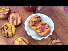 Grilled Peach Sundae   Delicious Dessert - YouTube