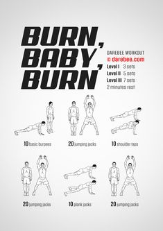 Burn, Baby, Burn! Workout