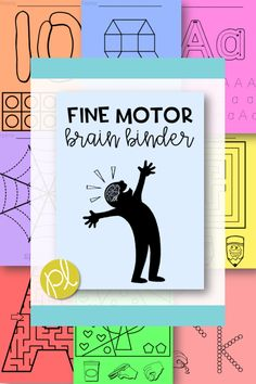 "A HUGE Fine Motor Skills resource that will can be used in at home, in centers, for morning work, and even indoor recess! There's a variety of tasks and open-ended pages to match with the materials you already have on hand. Create several ""brain binders"" or use the pages individually."