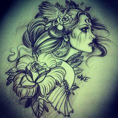 Realistic Artwork From Sake! #realism #realistic #portrait #design #pencil #paper #sketch #artwork #drawing #pearl
