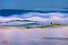 Tuscany magic myst! by Sergio Del Rosso, via 500px