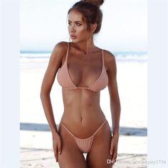 217c511294dba swimsuits for big busts Full Bust & Slim Hips. See more. Bikinis For  Summer: 2019 Women Fashion Bikinis Summer Holiday Swimsuit G String Thong  Bikini Push
