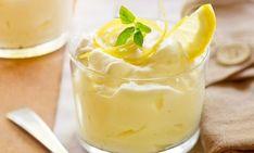 Mousse au citron facile - Recette Plat - Recette Cuisine Facile Masterchef, Ww Desserts, Parfait, Deserts, Pudding, Sweets, Healthy Recipes, Ethnic Recipes, Bakeries