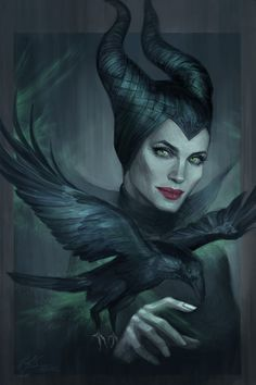 Maleficent by jasric on deviantART