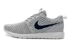 pretty nice 417b4 c32eb UK Running Nike - Roshe Run Flyknit Mens Gray