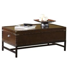 Found it at Wayfair - Southport Trunk Coffee Table in Espresso
