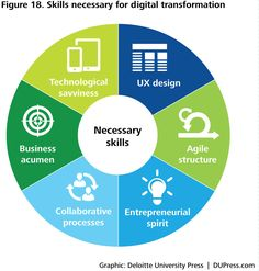 DUP1081_Figure 18. Skills necessary for digital transformation