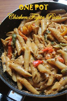 I love one pot meals, they are much convenient when you dont have much time on hand and less washing up. This pasta is one of that recip...
