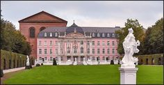 The Elector's Palace, Trier, Germany. A beautiful Renaissance Palace