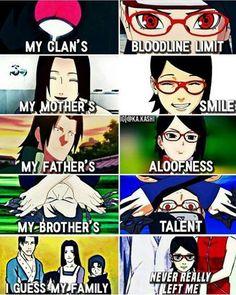 I love that sasuke has a family know