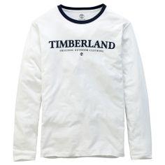 Men's Long Sleeve Logo Ringer T-Shirt - Timberland
