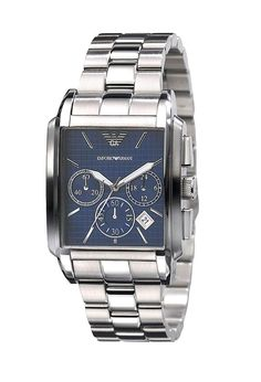 Luxury Watch Boutique - Emporio Armani Men's Classic Square Chronograph Watch AR0480, £270.00 (http://www.luxurywatchboutique.com/emporio-armani-mens-classic-square-chronograph-watch-ar0480/)
