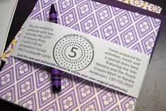 Harold and the Purple Crayon: Birthday Invite