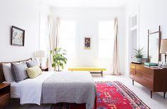 Home Tour: This Minimalist Home Is an Artist's Dream via @MyDomaine