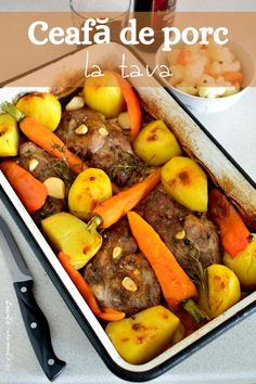 Romania Food, Pot Roast, Cookie Recipes, Bacon, Recipies, Pork, Food And Drink, Yummy Food, Favorite Recipes