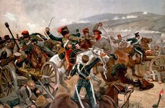 Relief of the Light Brigade - painted by Richard Caton Woodville