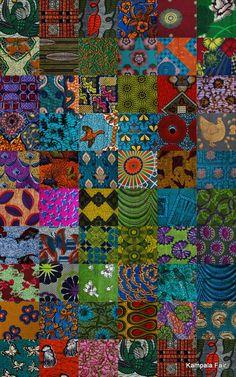 #african print fabric