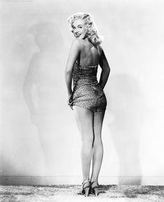 Marilyn Monroe photographed for Ladies of the Chorus.